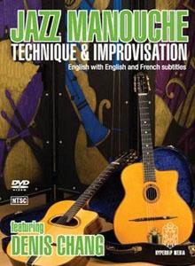 Denis Chang - Jazz Manouche - Technique and Improvisation Complete